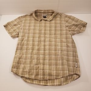 Urban Pipeline Button Down Short Sleeve Large